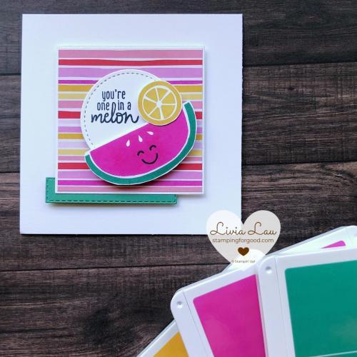 Cute Fruit Melon Card