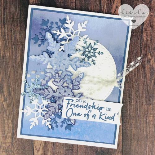 Friendship One Of A Kind Snowflake