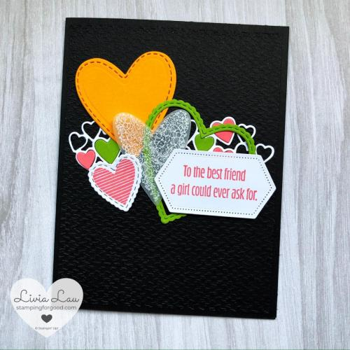 Meant to Be Color Challenge Card