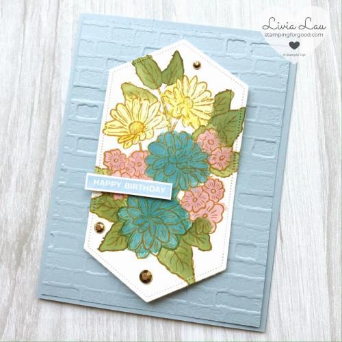 Ornate Garden Card