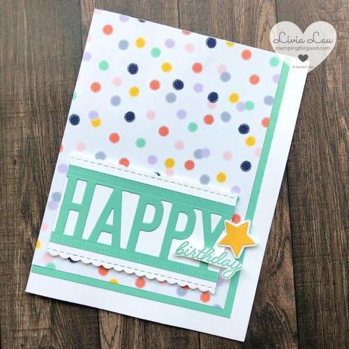 So Much Happy Playful Patterns Card Single