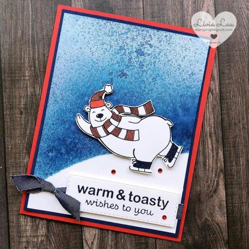 Warm & Toasty Bear Night Of Navy