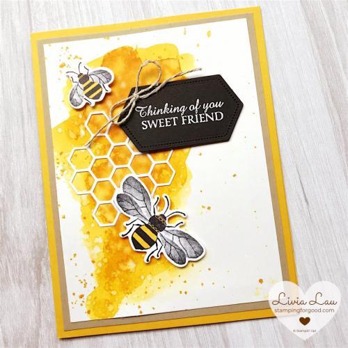 Watercolour Bee Mine